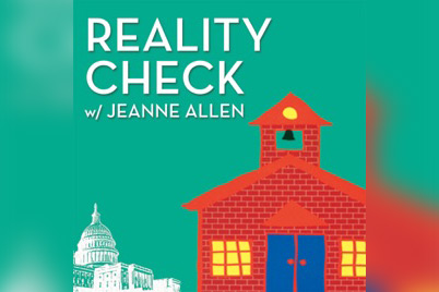 Featured image for Podcast: Reality Check with Jeanne Allen