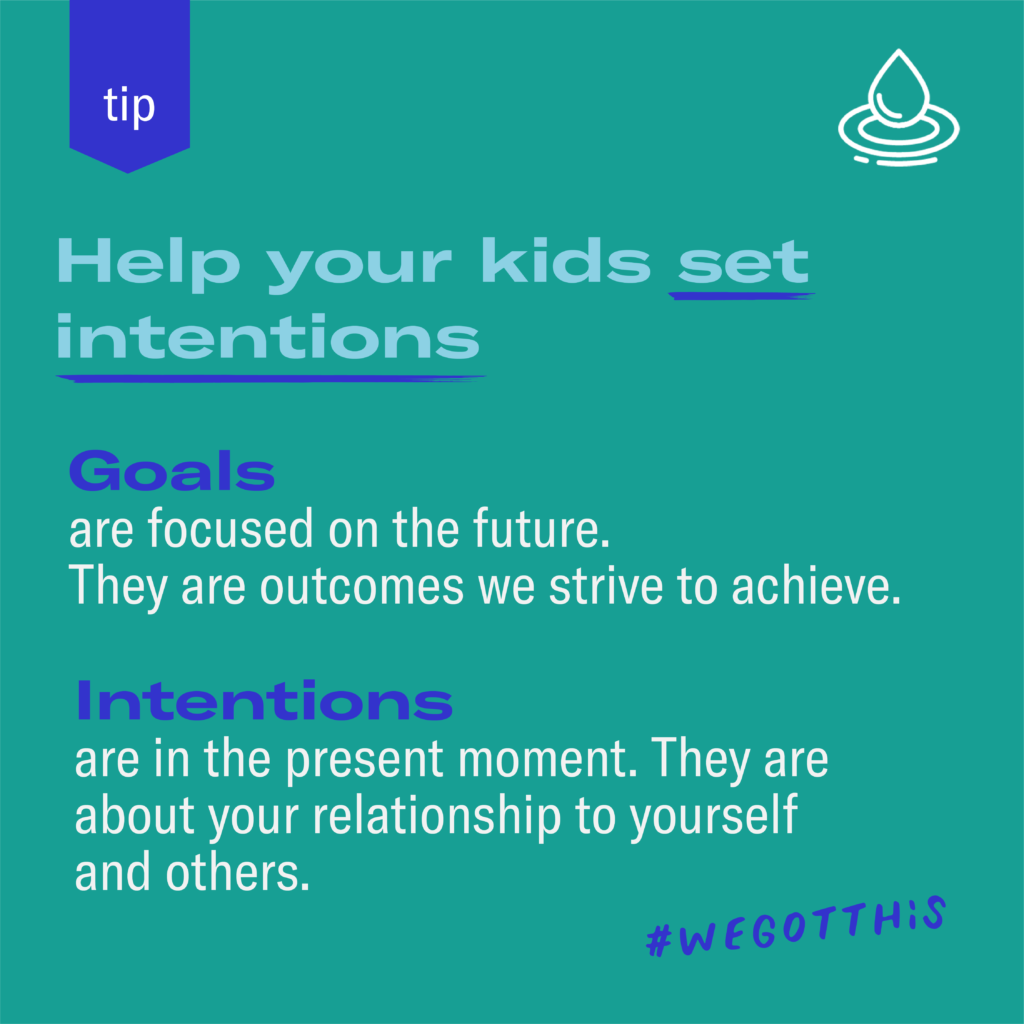 Set Intentions vs Goals Meaning by Prepared Parents