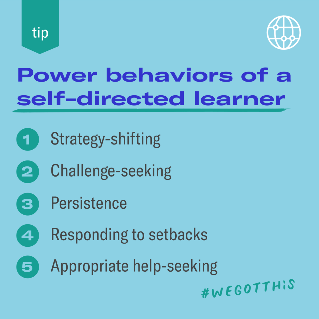 Power behaviors of a self-directed learning by Prepared Parents
