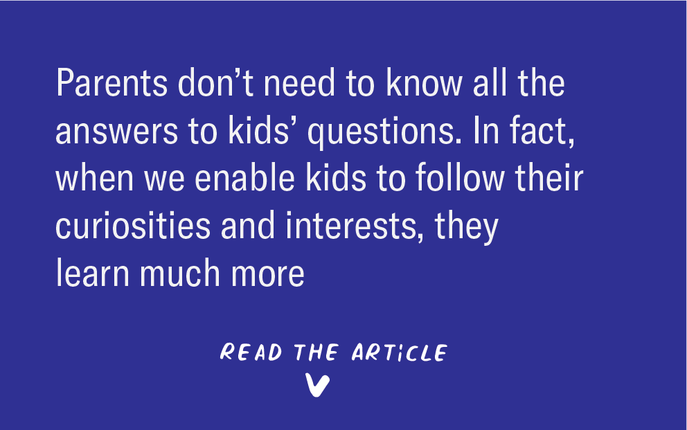 Featured image for Article: Kids have an endless supply of questions, but answering might not help them learn
