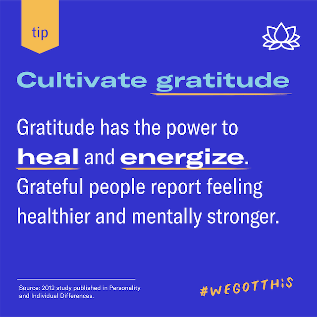 Featured image for Cultivate gratitude: what can we be thankful for right now?