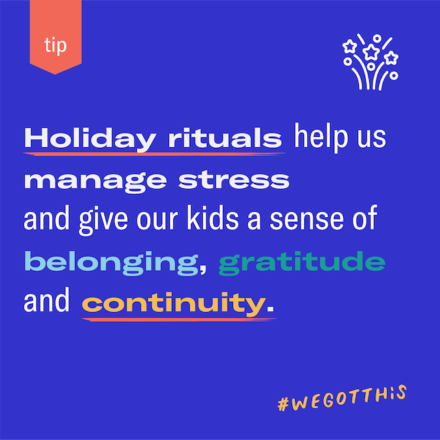 Featured image for Take time to celebrate—holiday rituals promote routine