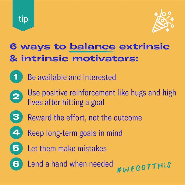 6 ways to balance extrinsic and intrinsic motivators