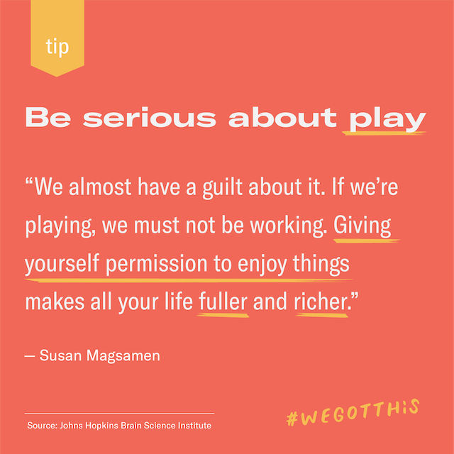 Featured image for Get serious about play
