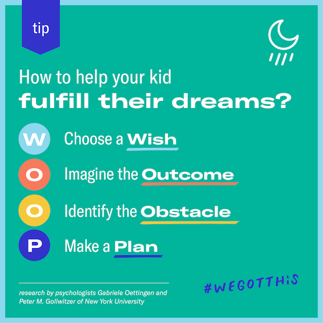 Featured image for WOOP, there it is: help your kid fulfill their dreams