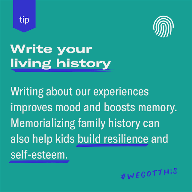 Featured image for We're living history—teach kids to record it