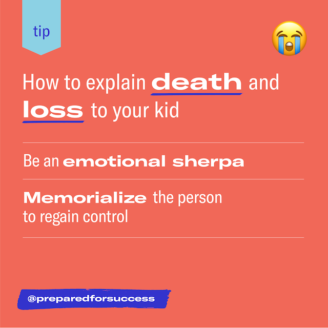 Featured image for How to comfort your kid in times of loss and grieving