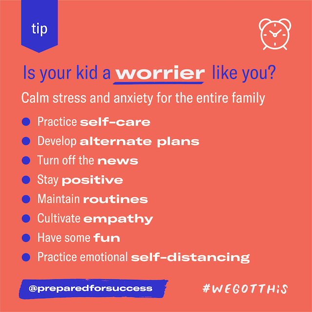 Featured image for How to stop your kids from worrying obsessively?