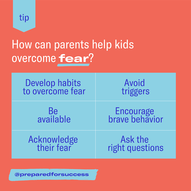 Featured image for How can I help my kid handle fear?