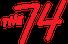 The 74 logo