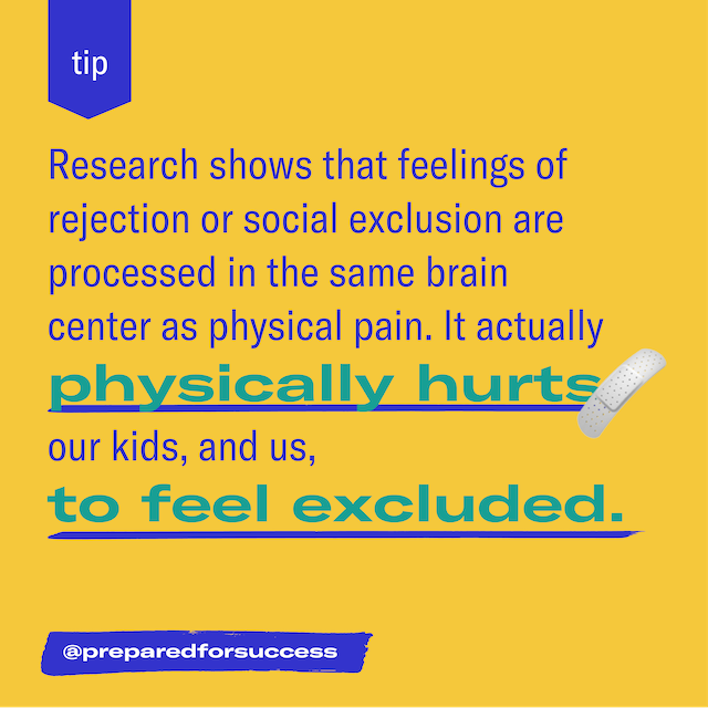 Social exclusion is physically painful